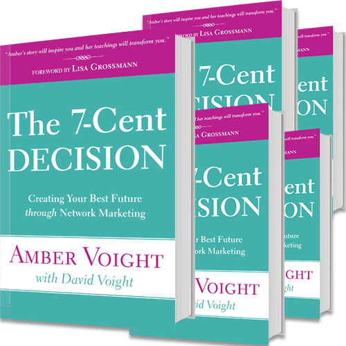 Amber new released book: the 7-cent decision